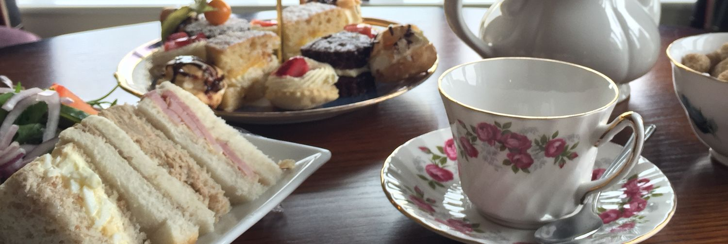 Afternoon tea houghwood golf close to m6 m58 for Club sandwich fillings for high tea